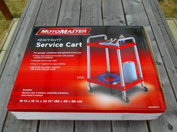 C-Tire Heavy Duty Shop Service Cart