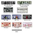 WANTED: Old License Plates