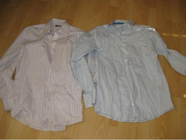 2 Ted Baker Size 16 1/2 and 17 Dress Shirts