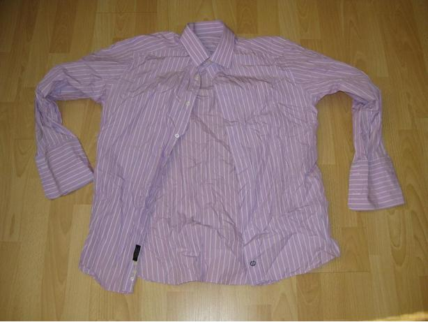 Mens David Donahue Shirt In Size L