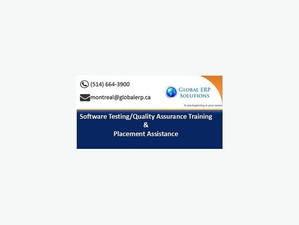 Testing Training & Placements in Montreal