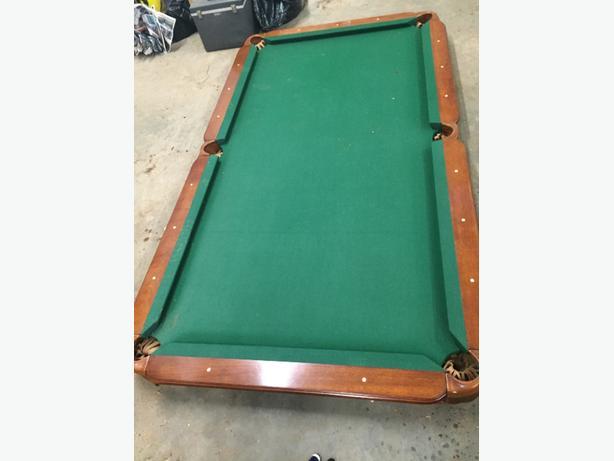 sportsman pool table $400 obo