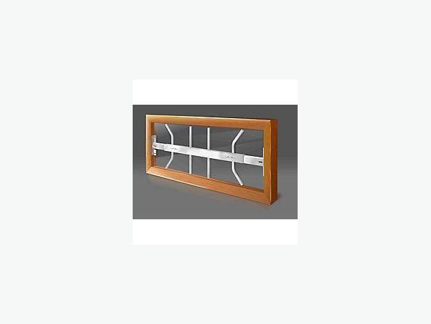 Basement window security bars