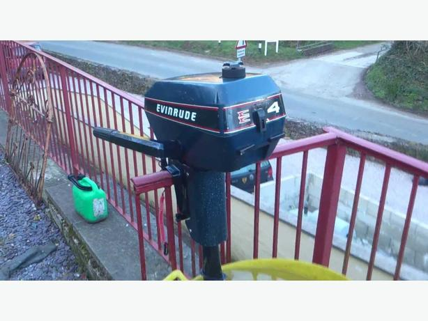 WANTED: 3-4 hp Evinrude outboard motor for parts