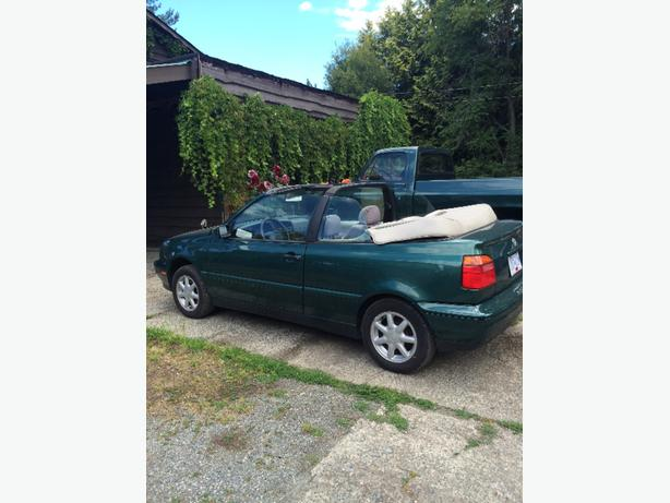 1996 Volkswagon Convertible