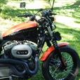 2008 Harley Davidson Sportster Nightster 1200