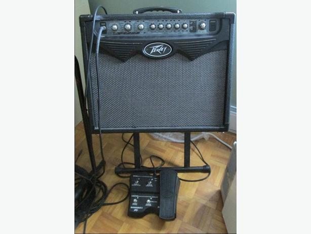 Peavey Vypyr 30 with Sanpera 1 pedal, like new reduced