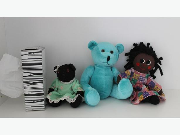 Vintage Bears & Doll