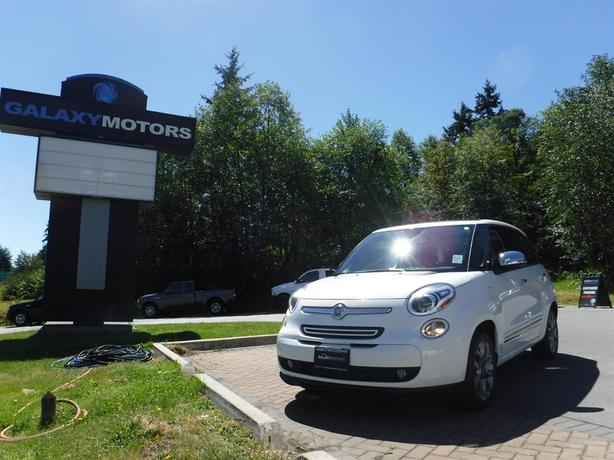 2015 FIAT 500L Lounge - Leather Int, Satellite Radio, Alloy Wheels