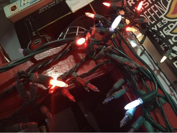 Working indoor xmas lights