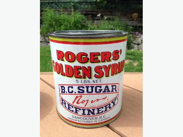 Rogers Syrup Tin