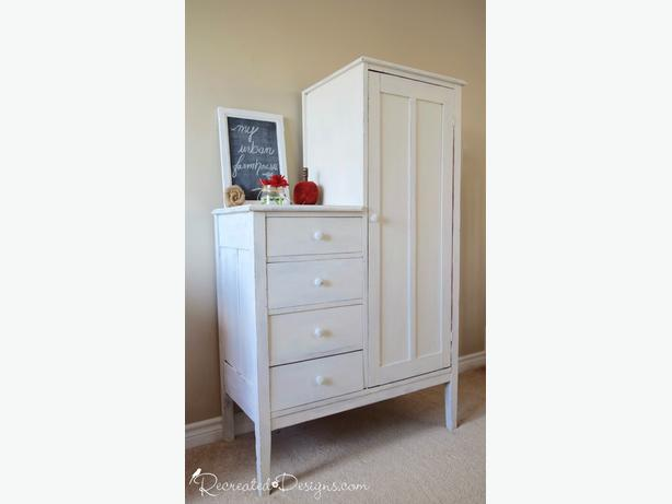 Vintage Farmhouse Wardrobe