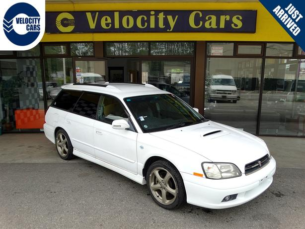 1999 Subaru Legacy Wagon GT 4WD 45K's AWD Twin-Turbo 276hp Sunroof Low Mileage