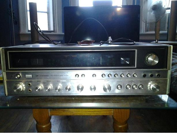 Sansui Qs 4 channel receiver QRX 7001