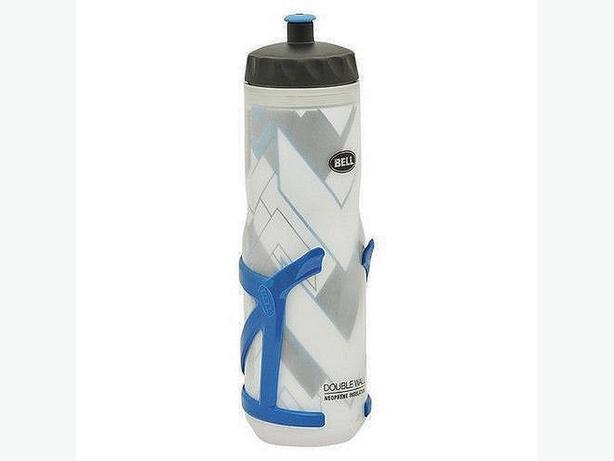 BELL QUENCHER 550 Insulated Bottle with Cage - Blue
