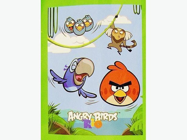 Angry Birds Rio Fleece Throw Blanket