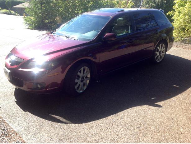 2006 Mazda 6 Sport wagon. V6