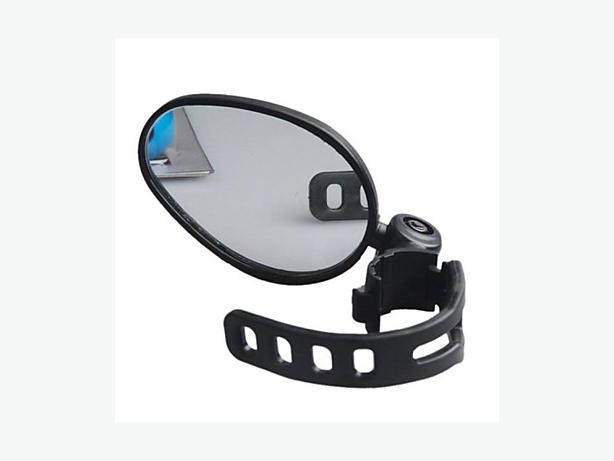 Bicycle Bike Rear View Mirror - 7x5cm
