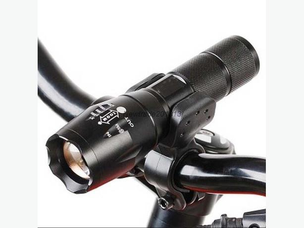 UltraFire CREE XML-T6 Zoomable LED Flashlight with Bike Mount