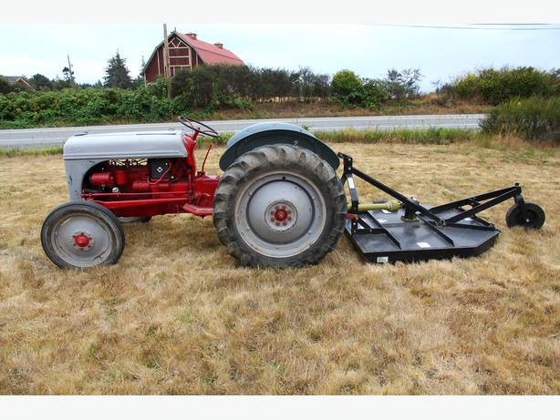 1950 Ford 8n Tractor Parts : Ford n agriease foot brush cutter sooke victoria