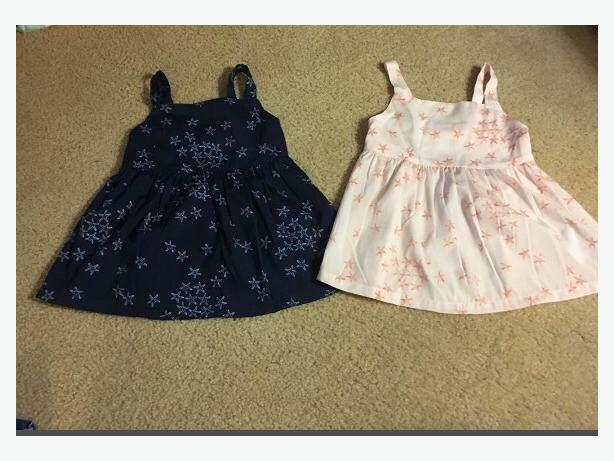 cute summer tops.  like new.  worn once