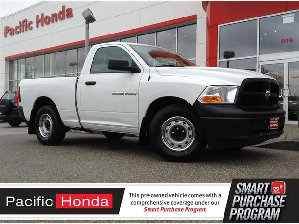 2012 Dodge Ram 1500 ST - RARE NO FRILLS WORK TRUCK