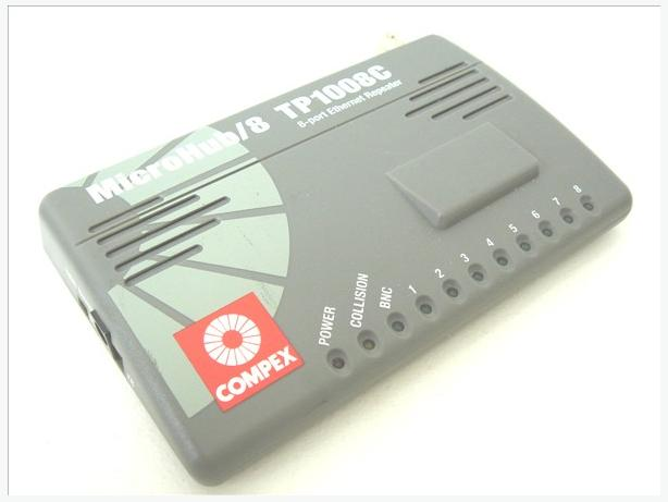 Compex Microhub 8-Ports 10BaseT Ethernet Hub (TP1008C)