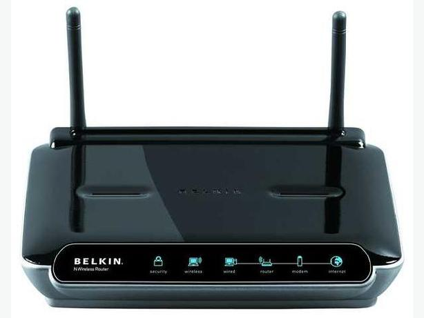 Belkin 300Mbps 4-Port N Wireless Cable Router (F5D8233-4)