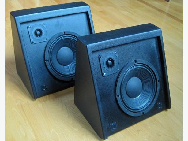 Wedge Shaped Speakers