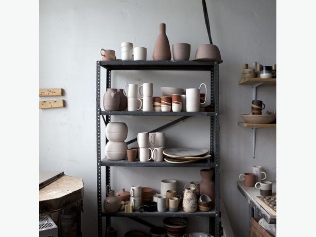 WANTED: used metal garage shelving