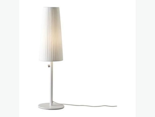 Ikea 365+ LUNTA Table Lamp - White