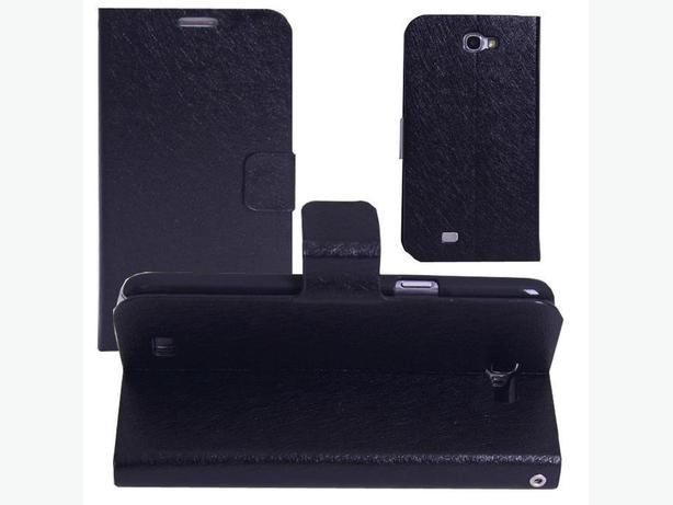 Flip Leather Wallet Stand Case for Samsung Galaxy Note 2 N7100