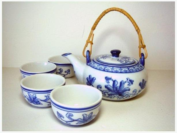 5 Piece Ceramic Teapot Set