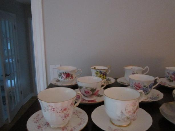 Bone China Vintage Tea Cups