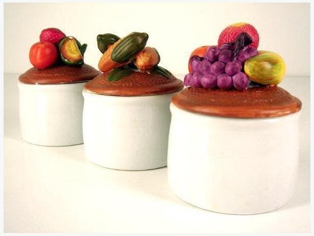 Porcelain Jar / Canister (Set of 3)