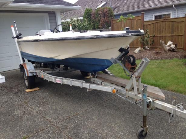 Boat and Trailer for Sale