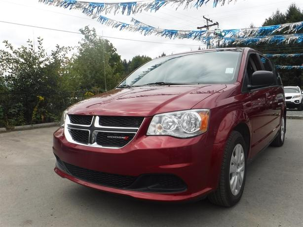 2014 Dodge Grand Caravan SXT - Accident Free, BC Only, Satellite Radio