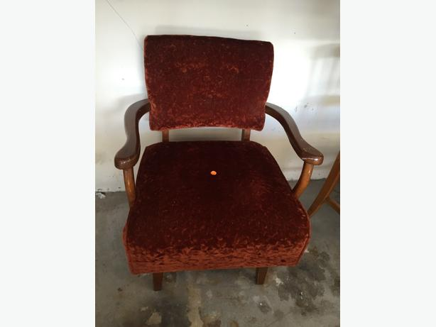 retro chair 25.00