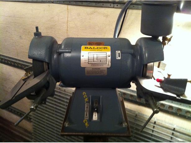 """Baldor 522 6"""" Tool Grinder, 115 Volt"""
