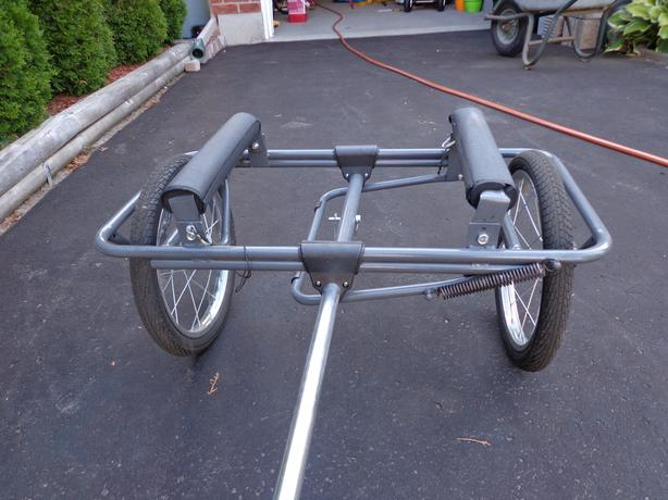 CARRY CANOE, KAYAK, ROW BOAT - ATTACH to BICYCLE