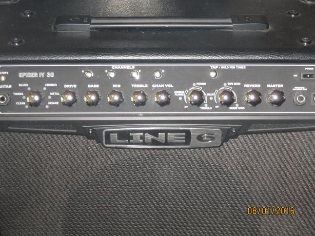 Line 6 Spider IV 30W amp