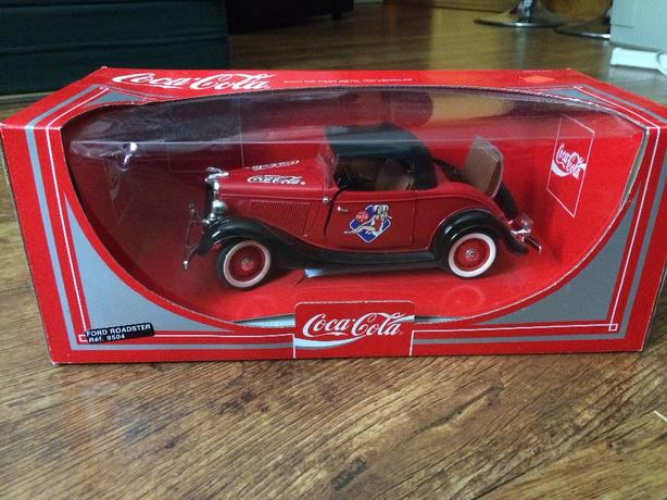 Coca Cola Ford Roadster by Solido