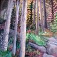 Award winning Oak Bay Artist Elizabeth Caulton Showing and Sale of her art