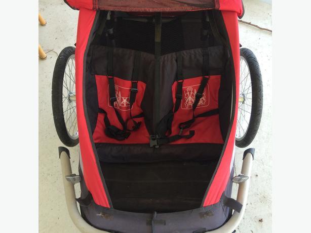 Mec Double Chariot Stroller Bike Trailer Central Nanaimo Nanaimo