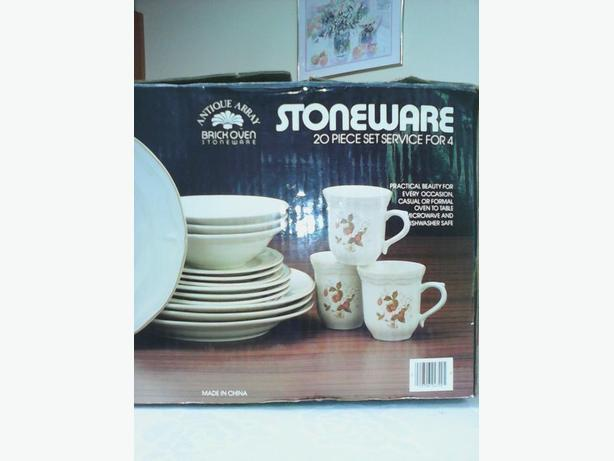 20 piece stoneware set250 748 4922  this item has been cross posted
