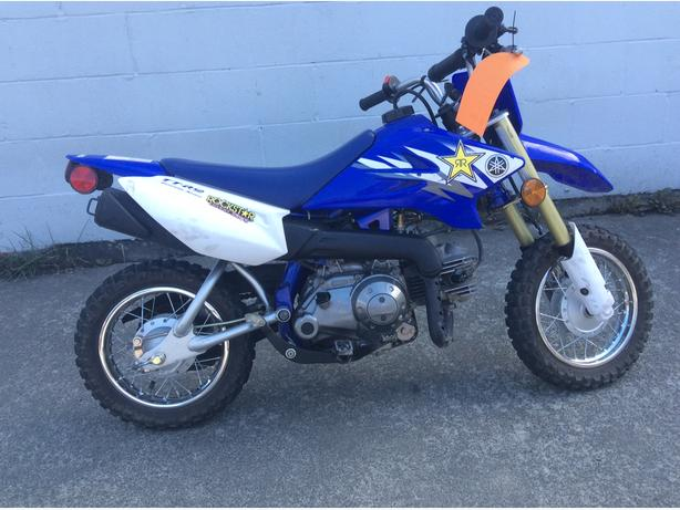 2006 Yamaha TTr50e 4-stroke beginner dirtbike - electric start