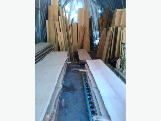 Rustic slabs and mantels