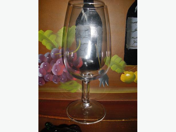 6 ounce wine glasses