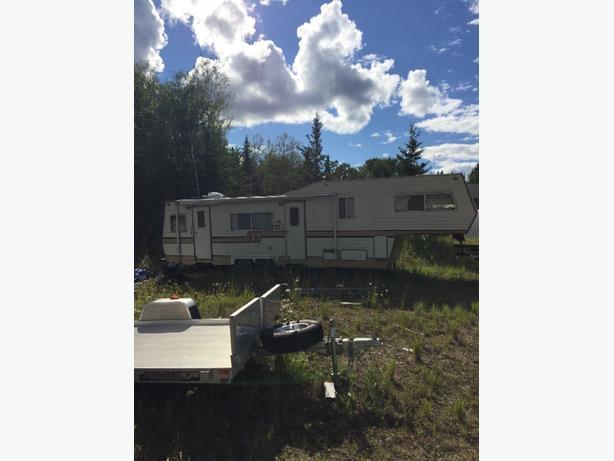 32 foot fifth wheel trailer