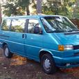 92 VW Eurovan for sale, 7 pax window van.